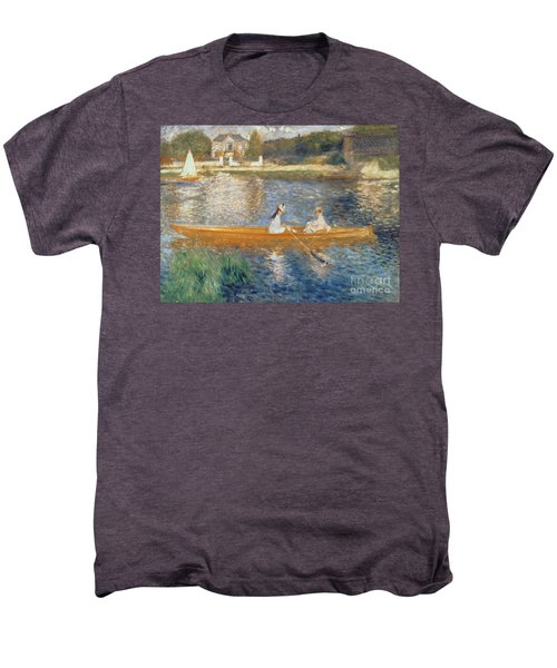 Boating On The Seine Men's Premium T-Shirt