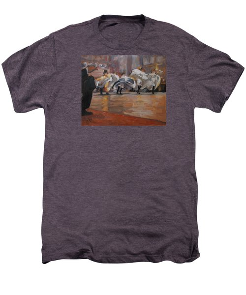 Can Can In The Moulin Rouge Paris Men's Premium T-Shirt by Nop Briex
