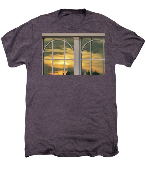 Cape May Abstract Sunset Reflection Men's Premium T-Shirt