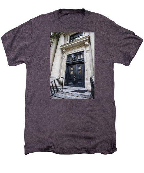 Carnegie Building Penn State  Men's Premium T-Shirt by John McGraw