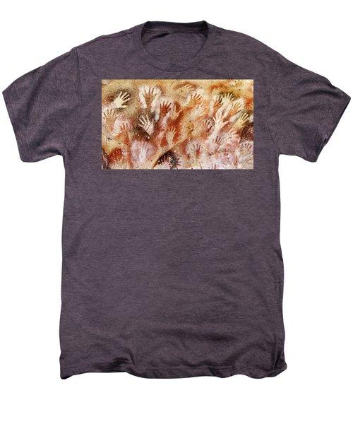 Cave Of The Hands - Cueva De Las Manos Men's Premium T-Shirt