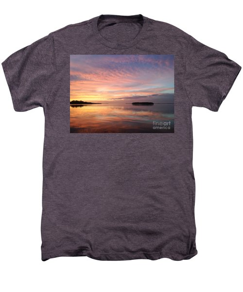 Celebrating Sunset In Key Largo Men's Premium T-Shirt