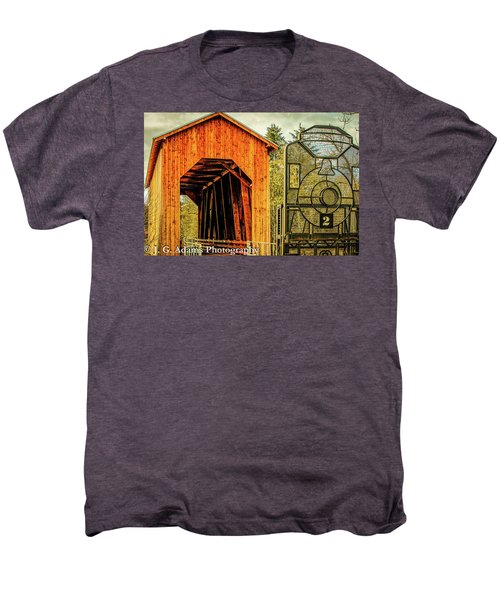 Chambers Railroad Bridge Men's Premium T-Shirt