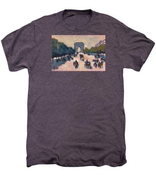 Champs Elysees Paris Men's Premium T-Shirt by Nop Briex