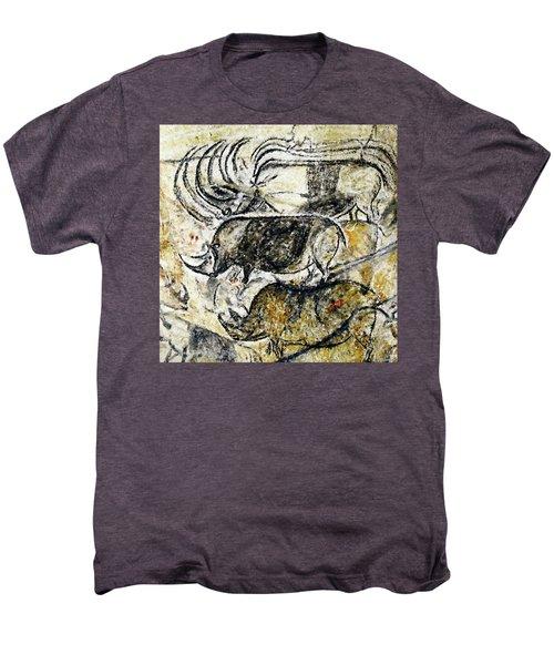 Chauvet Three Rhinoceros Men's Premium T-Shirt