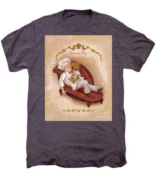 Chefs On A Break-afternoon Nap Men's Premium T-Shirt