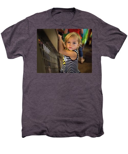 Men's Premium T-Shirt featuring the photograph Child In The Light by Bill Pevlor