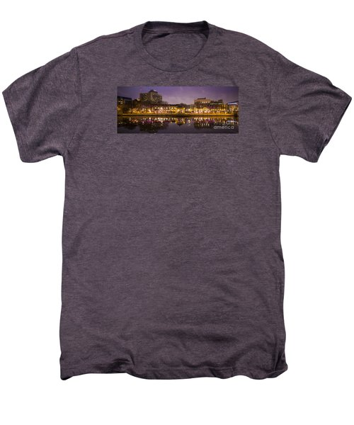 Men's Premium T-Shirt featuring the photograph Christmas Reflections  by Ricky L Jones