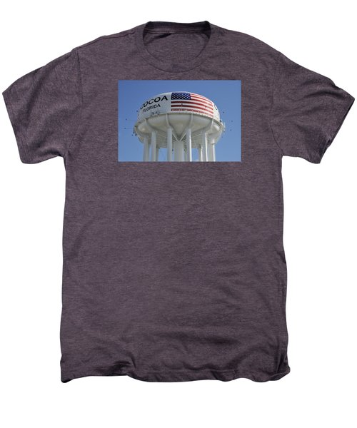 City Of Cocoa Water Tower Men's Premium T-Shirt