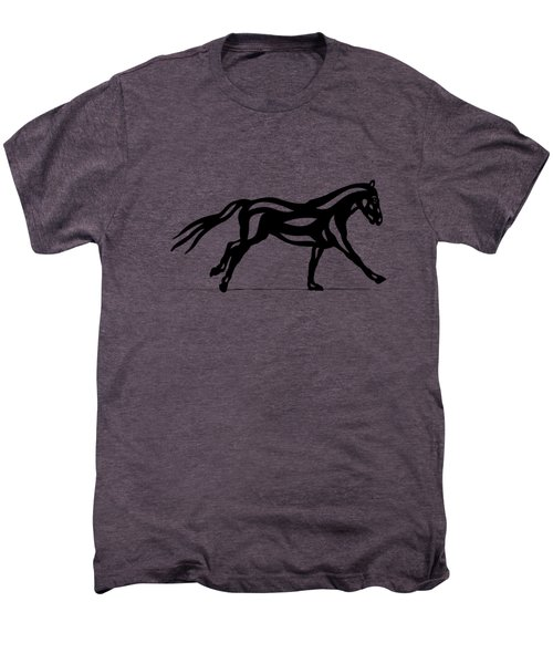 Clementine - Abstract Horse Men's Premium T-Shirt by Manuel Sueess