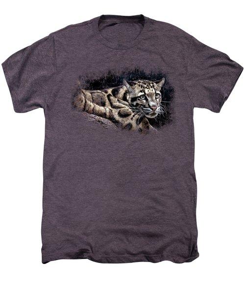 Leopard Men's Premium T-Shirt by David Millenheft