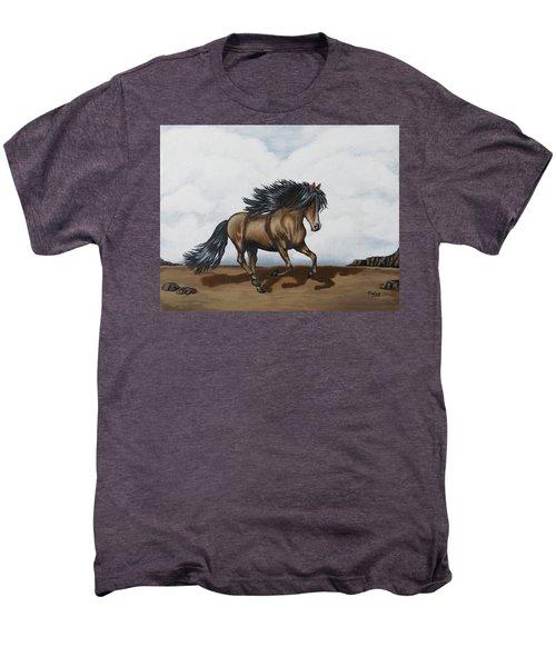 Coco Men's Premium T-Shirt by Teresa Wing