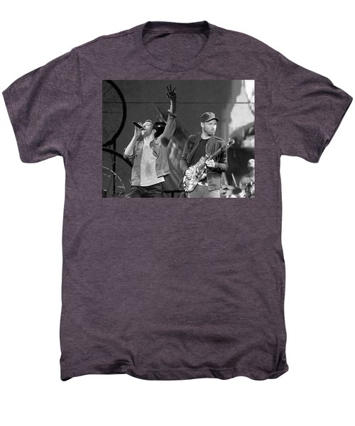 Coldplay 14 Men's Premium T-Shirt by Rafa Rivas