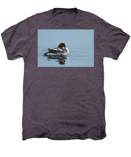 Common Merganser Men's Premium T-Shirt