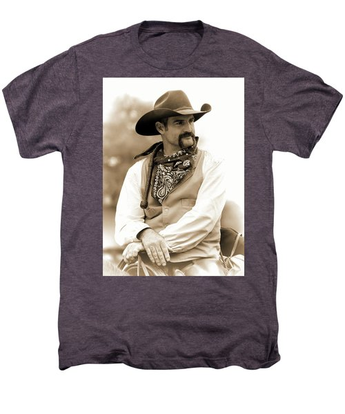 Content In The Saddle Men's Premium T-Shirt