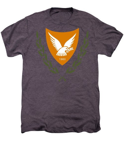 Cyprus Coat Of Arms Men's Premium T-Shirt