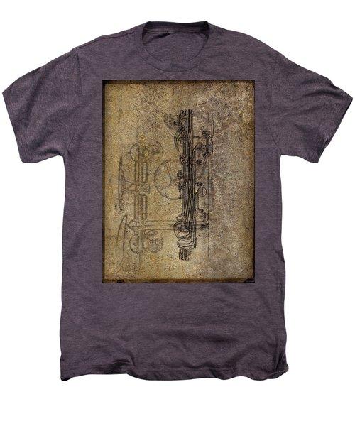 Dads Clarinet Men's Premium T-Shirt