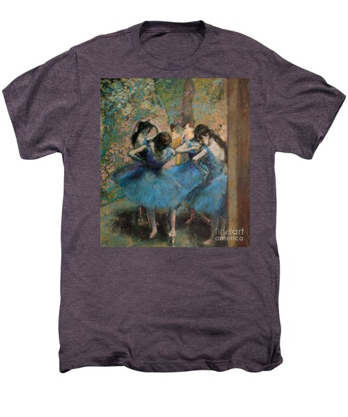 Dancers In Blue Men's Premium T-Shirt
