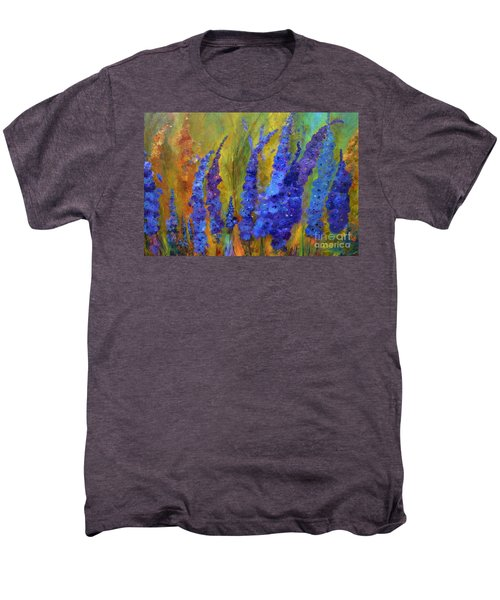Delphiniums Men's Premium T-Shirt