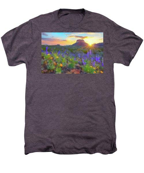 Desert Sunset Men's Premium T-Shirt