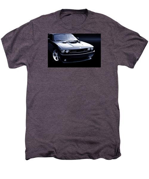 Dodge Challenger Blackbird Sr-71 Men's Premium T-Shirt by Thomas Burtney