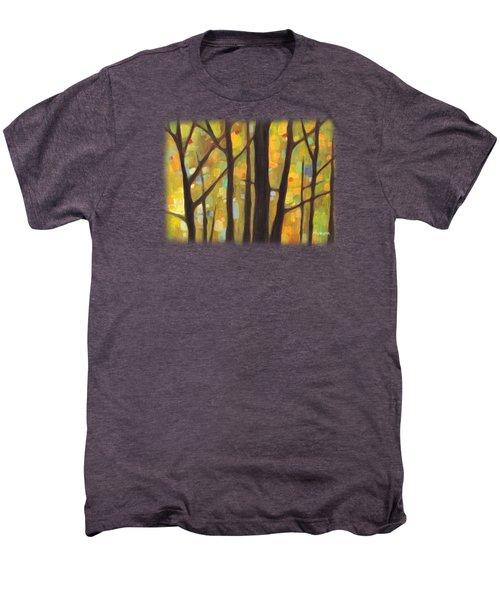 Dreaming Trees 1 Men's Premium T-Shirt by Hailey E Herrera