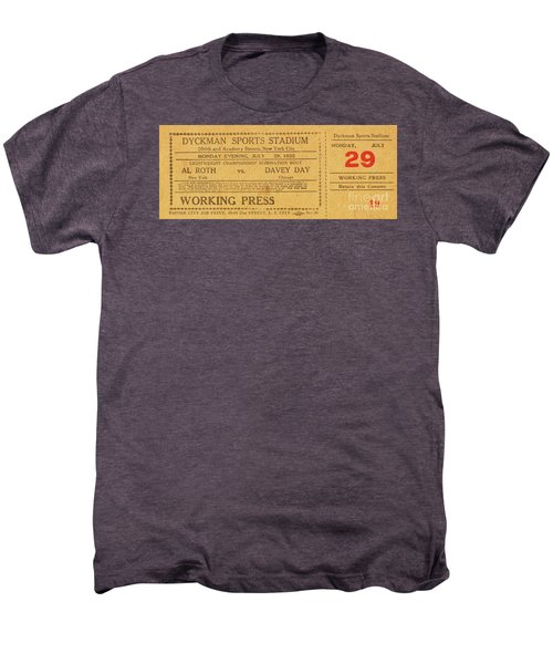 Dyckman Oval Ticket Men's Premium T-Shirt
