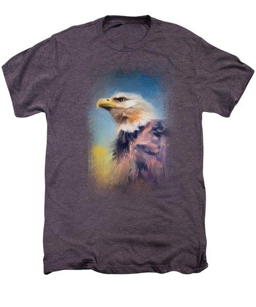 Eagle On Guard Men's Premium T-Shirt