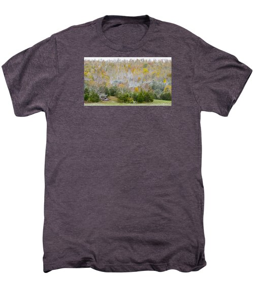 Early Snow Fall Men's Premium T-Shirt