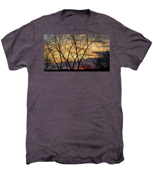 Early Spring Sunrise Men's Premium T-Shirt