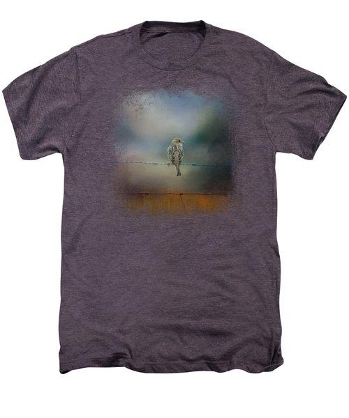 Fence Master Men's Premium T-Shirt by Jai Johnson