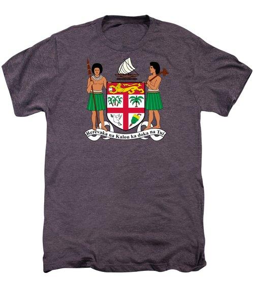 Fiji Coat Of Arms Men's Premium T-Shirt