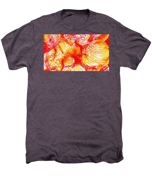 Flaming Hosta Men's Premium T-Shirt