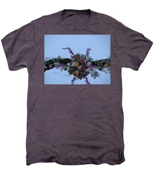 floral love in the Kenyan sky Men's Premium T-Shirt