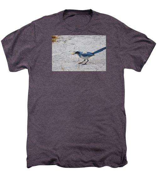 Florida Scrub Jay Men's Premium T-Shirt