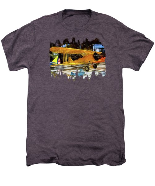 Fly Me To The Moon Men's Premium T-Shirt by Thom Zehrfeld