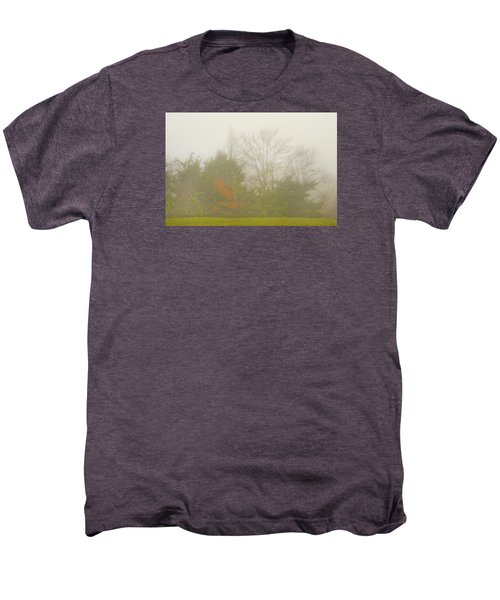 Fog In Autumn Men's Premium T-Shirt