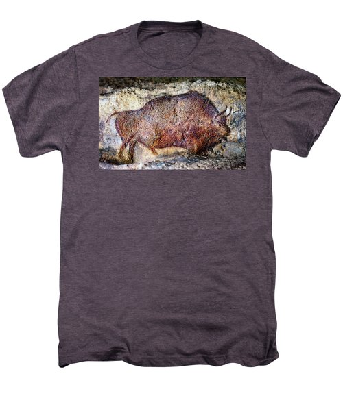 Font De Gaume Bison Men's Premium T-Shirt