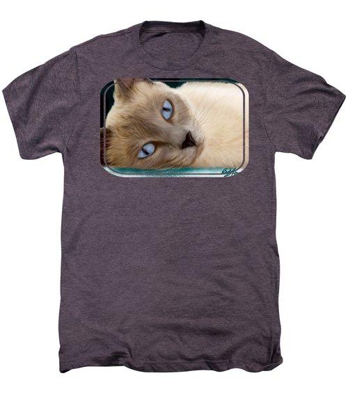 Frankie Blue Eyes Men's Premium T-Shirt