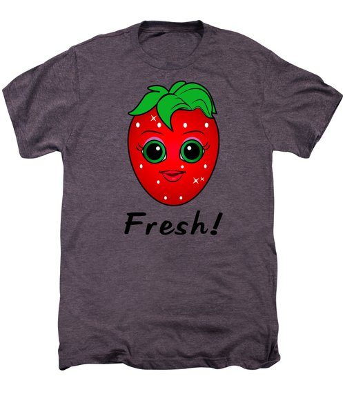 Fresh Strawberry Men's Premium T-Shirt by A