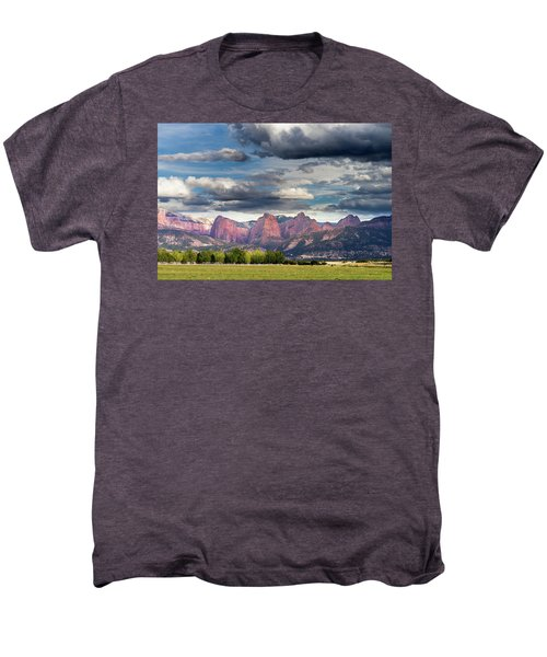 Gathering Storm Over The Fingers Of Kolob Men's Premium T-Shirt