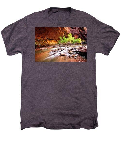 Gentle Flow Men's Premium T-Shirt