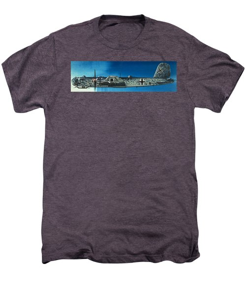 German Aircraft Of World War  Two Focke Wulf Condor Bomber Men's Premium T-Shirt