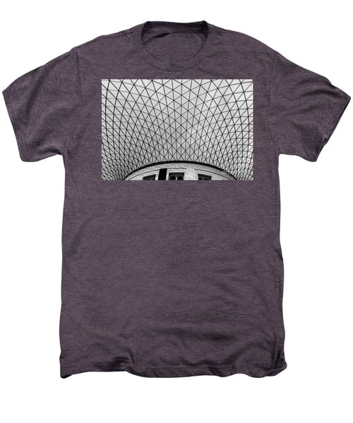 Men's Premium T-Shirt featuring the photograph Glass Ceiling by MGL Meiklejohn Graphics Licensing