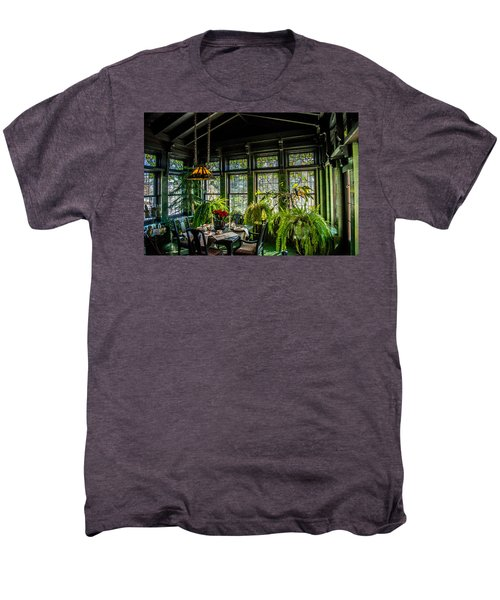 Glensheen Mansion Breakfast Room Men's Premium T-Shirt by Paul Freidlund