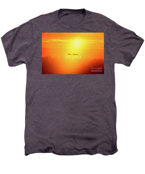 To You #002 Men's Premium T-Shirt by Tatsuya Atarashi