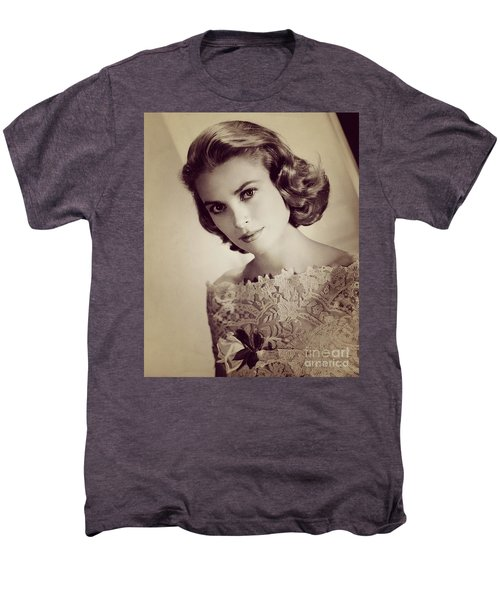 Grace Kelly, Movie Star Men's Premium T-Shirt