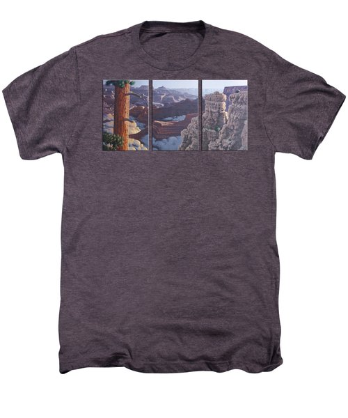 Grand Canyon Dawn Men's Premium T-Shirt by Jim Thomas