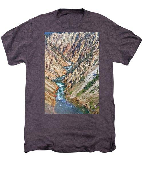 Grand Canyon Of Yellowstone Men's Premium T-Shirt