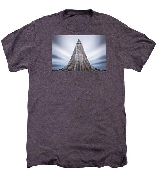 Hallgrimskirkja Cathedral Men's Premium T-Shirt